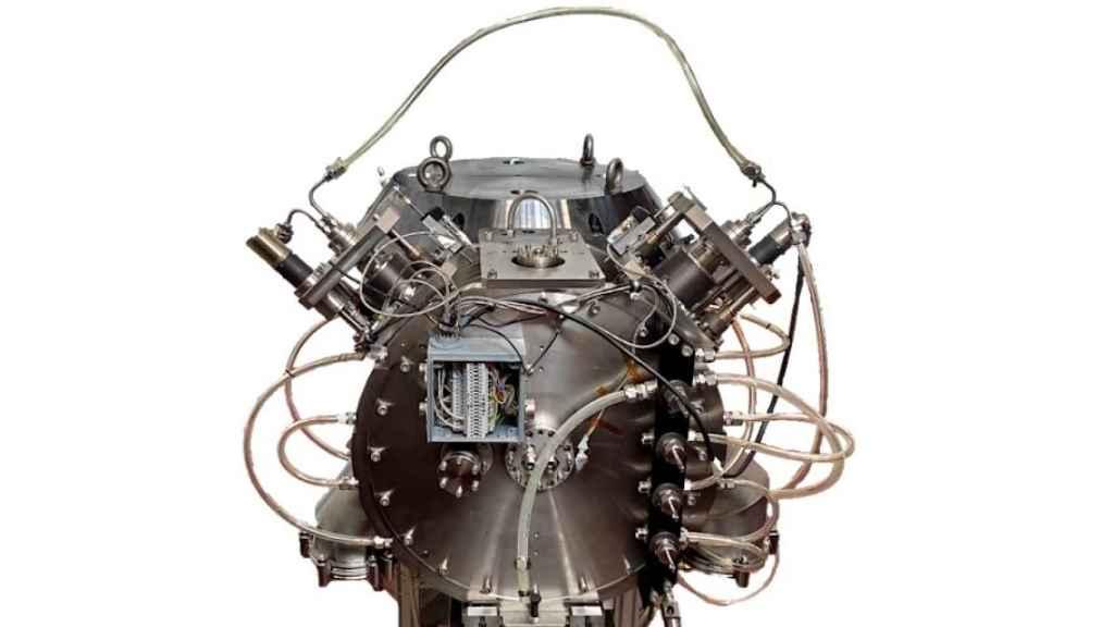 Imagen del prototipo de acelerador de partículas de Cyclomed