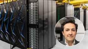 Darío Gil, director del IBM Research y el superordenador Summit.