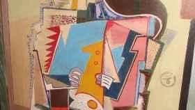 El cuadro de un flautista pintado por Picasso, supuestamente, e incautado por los nazis.