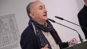 Pepe Álvarez, durante una rueda de prensa.