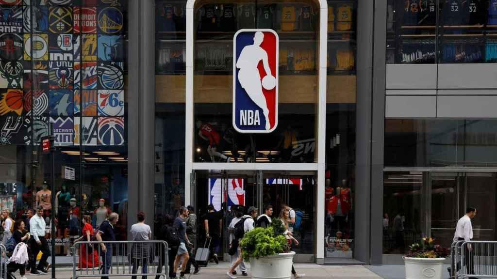 Las oficinas de la NBA