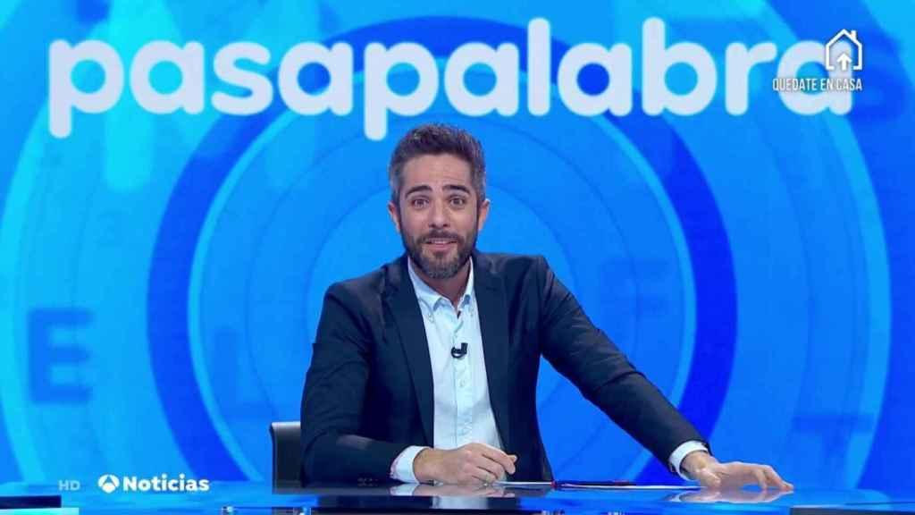 Roberto Leal al frente de 'Pasapalabra'.