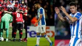 Jugadores de Mallorca, Espanyol y Leganés