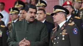 Nicolás Maduro y Vladimir Padrino. /Reuters