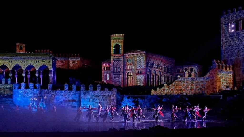Escena del espectáculo 'El Sueño de Toledo'.
