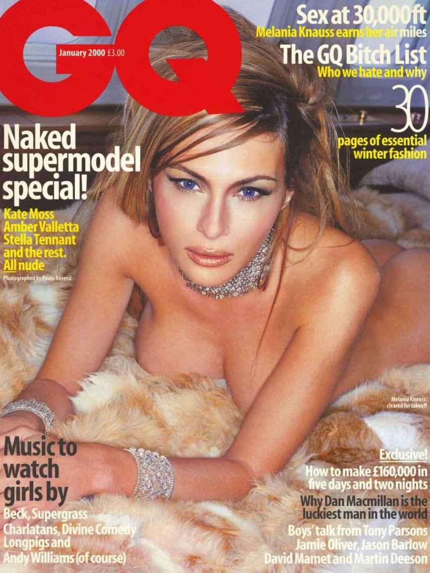 Portada de la revista 'GQ' con Melania Trump como protagonista.