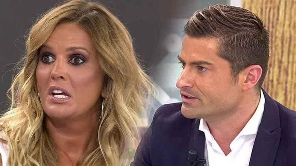Marta López y Alfonso Merlos (Mediaset)