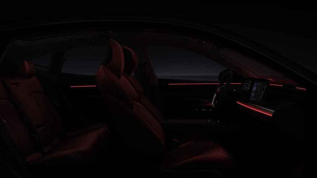 El interior del Xpeng P7 busca estar al nivel de los sedan deporitvos alemanes