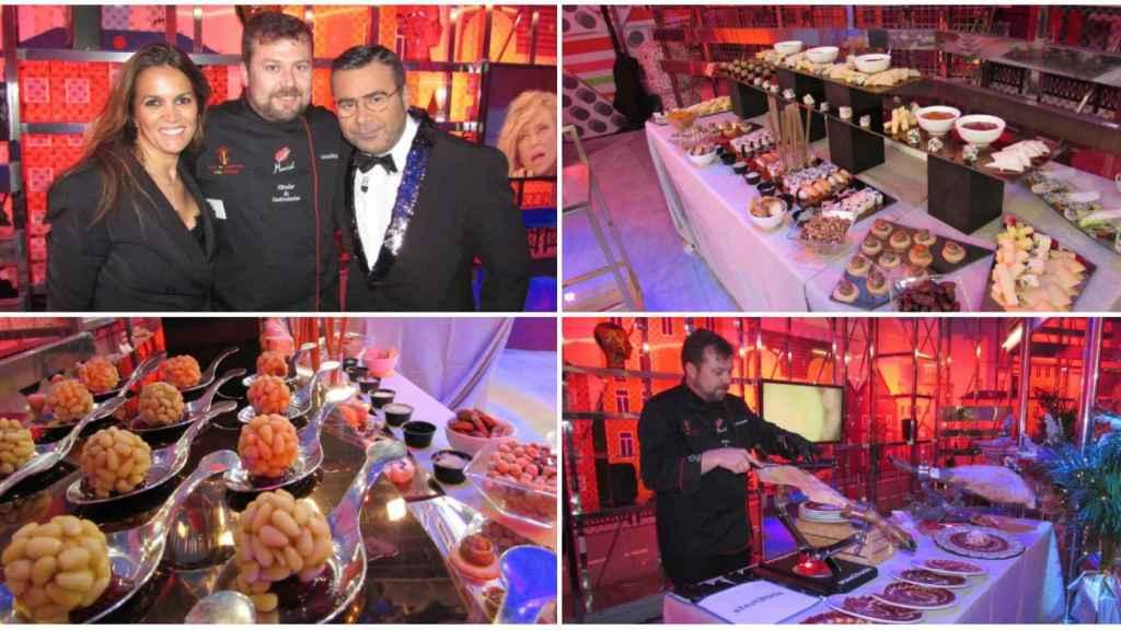 La empresa de Marta fue el catering oficial de las campanadas de Telecinco en 2018.