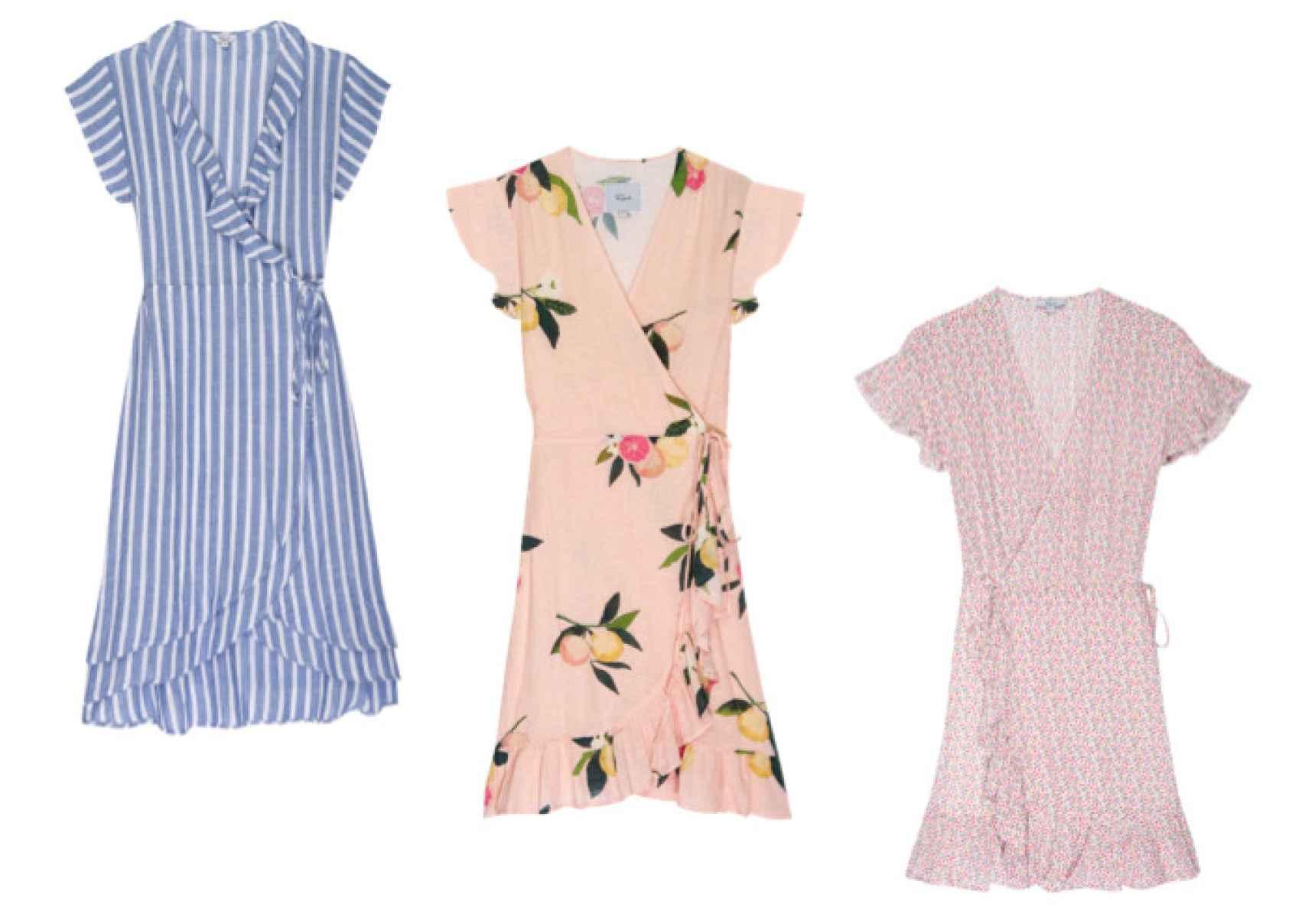 Propuestas de vestidos para esta rara primavera.