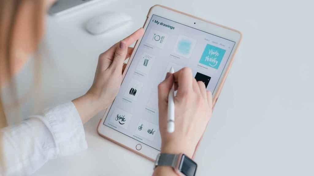 iPad.