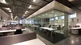 Espacio de oficinas en una imagen de archivo.