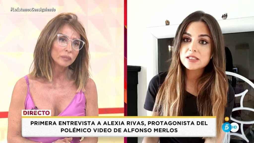 Alexia Rivas daba explicaciones en su programa, 'Socialité'.