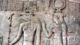 Relieve del Antiguo Egipto.