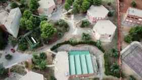 Vista aérea de la Universidad Laboral de Toledo