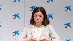 Mariona Vicens, directora de Innovación de CaixaBank, en el evento Big Ideas SomosMujeresTech.