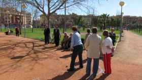 Jubilados cordobeses juegan a la petanca, en una imagen de archivo.