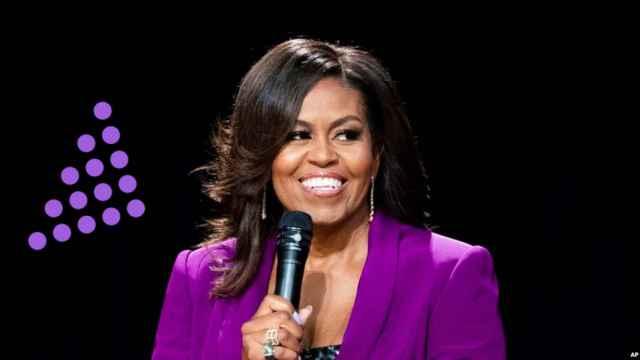 Michelle Obama en un evento.