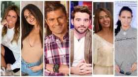 Montaje de JALEOS con algunos de los protagonistas en el escándalo 'Merlos Place'.