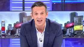 Joaquín Prat durante la emisión de 'Cuatro al día'.