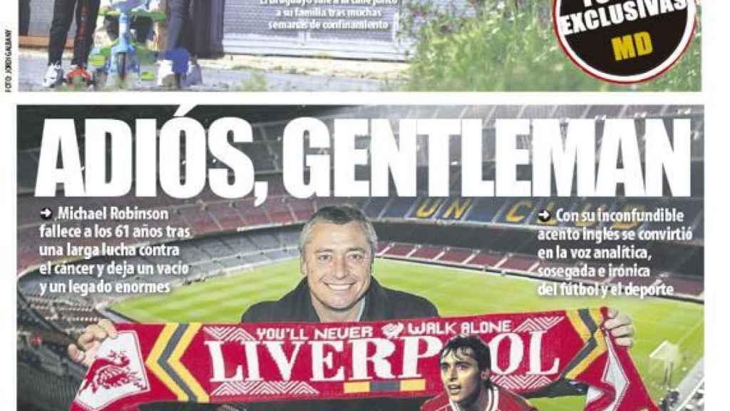 Portada Mundo Deportivo (29/04/20)