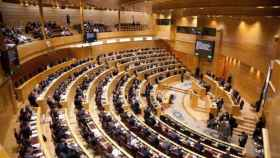 Panorámica del pleno del Senado en una imagen de archivo.