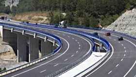 Imagen de la autovía del pirineo.