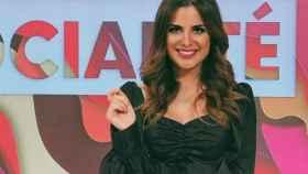 Alexia Rivas, en una emisión en 'Socialité'.