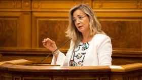 Lola Merino, diputada regional del PP, en las Cortes de Castilla-La Mancha (Imagen de archivo)