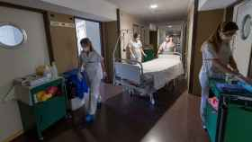 El hospital de Cieza es uno de los primeros hospitales sin pacientes Covid en España.