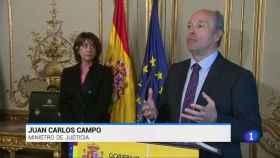 Juan Carlos Campo, ministro de Justicia.