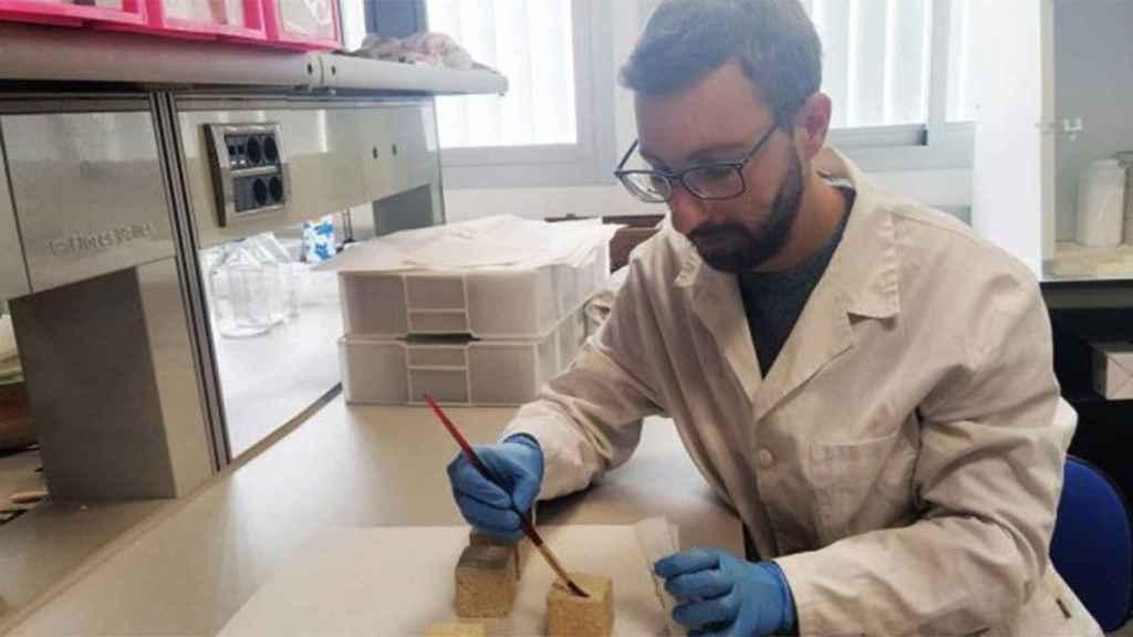 Este investigador aplica a caliza del Puerto de Santa María las nanopartículas de hidróxido de calcio dopadas con puntos cuánticos.