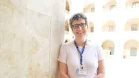 María Jesús Esteban, en la Escuela de Industriales de la Universidad Politécnica de Cartagena, en imagen de archivo.