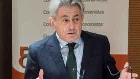 El presidente del Consejo General de Economistas de España, Valentín Pich.