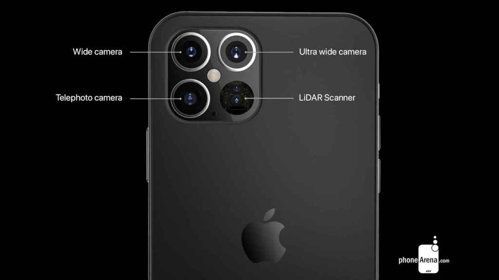 Los nuevos iPhone 12 Pro contarán con LIDAR