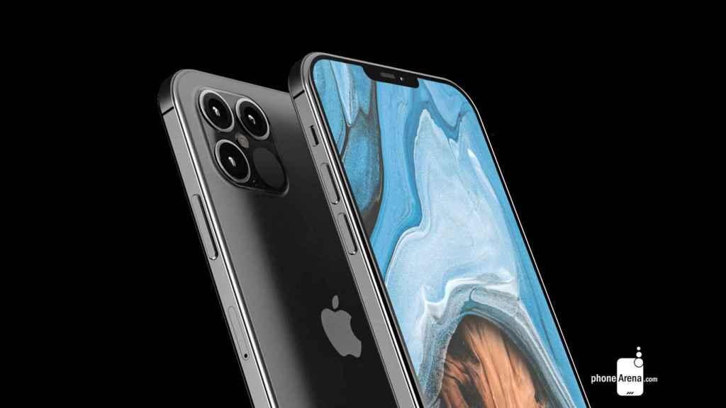 Imágenes renderizadas de los nuevos iPhone 12