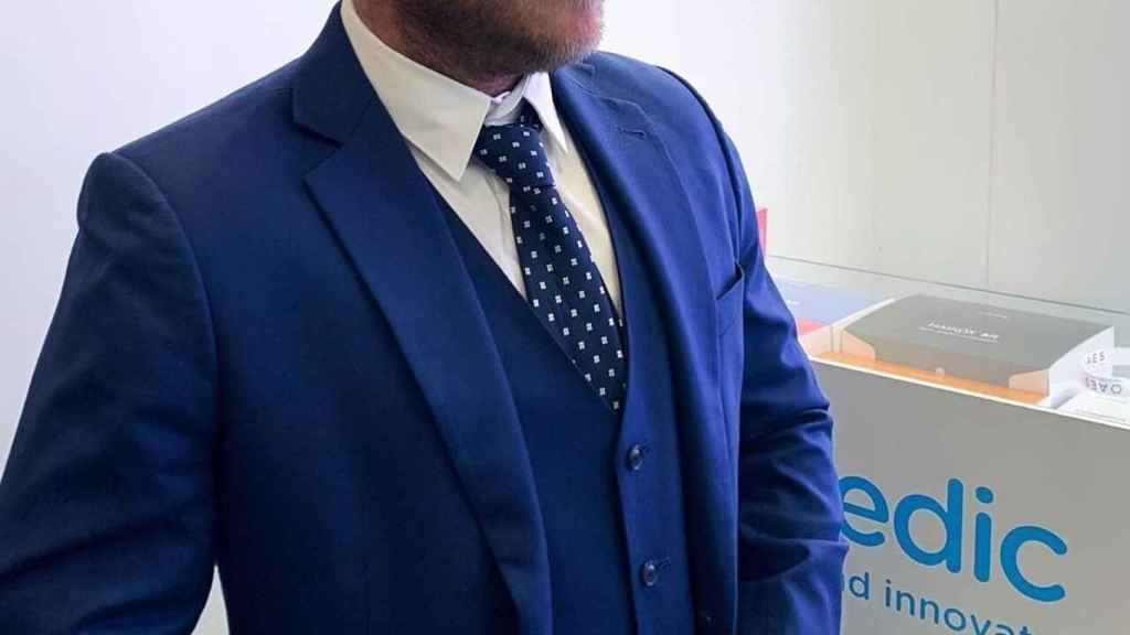 Eric Casas, nieto del fundador de Hans Biomed Skymedic y brand manager de la empresa.