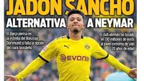 La portada del diario SPORT (02/05/2020)