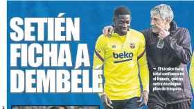 Portada Mundo Deportivo (01/05/20)