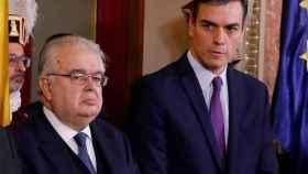 Sánchez y González Rivas, el pasado 6 de diciembre en el Congreso./