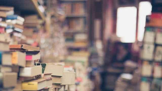 Imagen de una biblioteca.