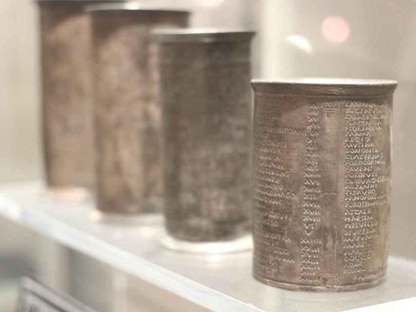 Los Vasos de Vicarello.