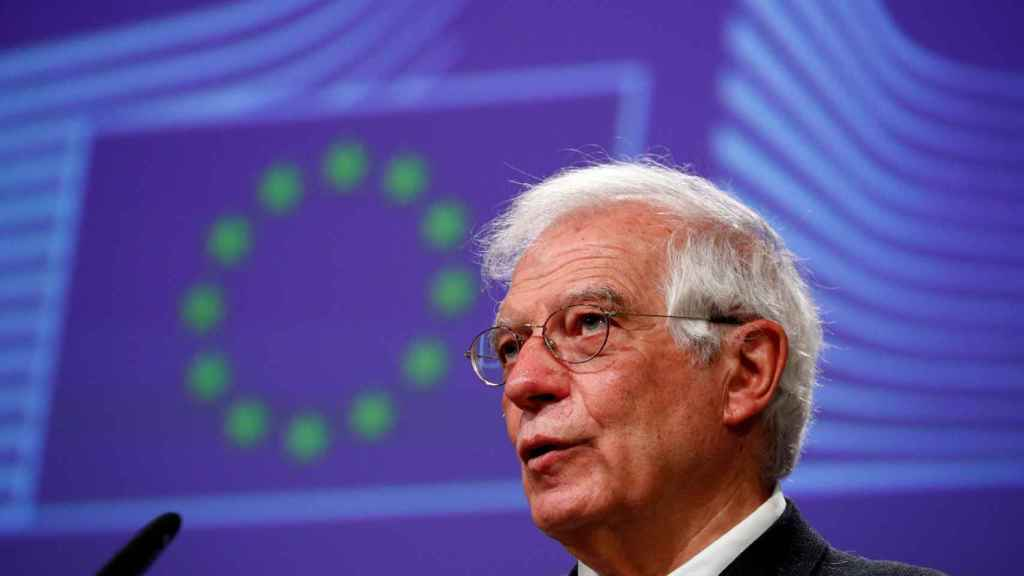 Josep Borrell, Alto Representante de la UE, en la Comisión Europea.