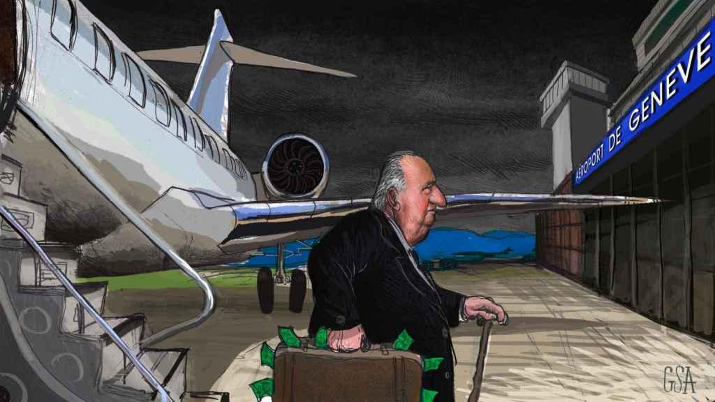 Juan Carlos, del Golfo a Suiza: un maletín y 25 años de mordidas millonarias a costa del hermano árabe
