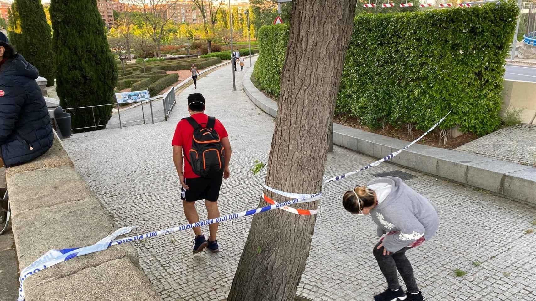 Madrid Río, abarrotado pese a las prohibiciones