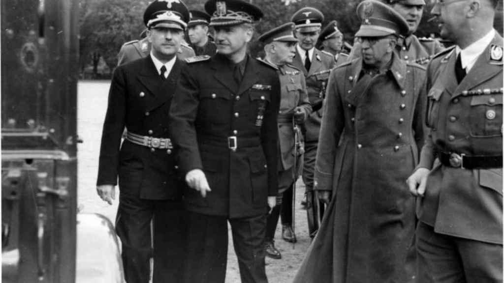 Visita de Ramón Serrano Suñer a Berlín, donde se reunió con Heinrich Himmler,  Wilhelm Frick o Joachim von Ribbentrop (septiembre de 1940).