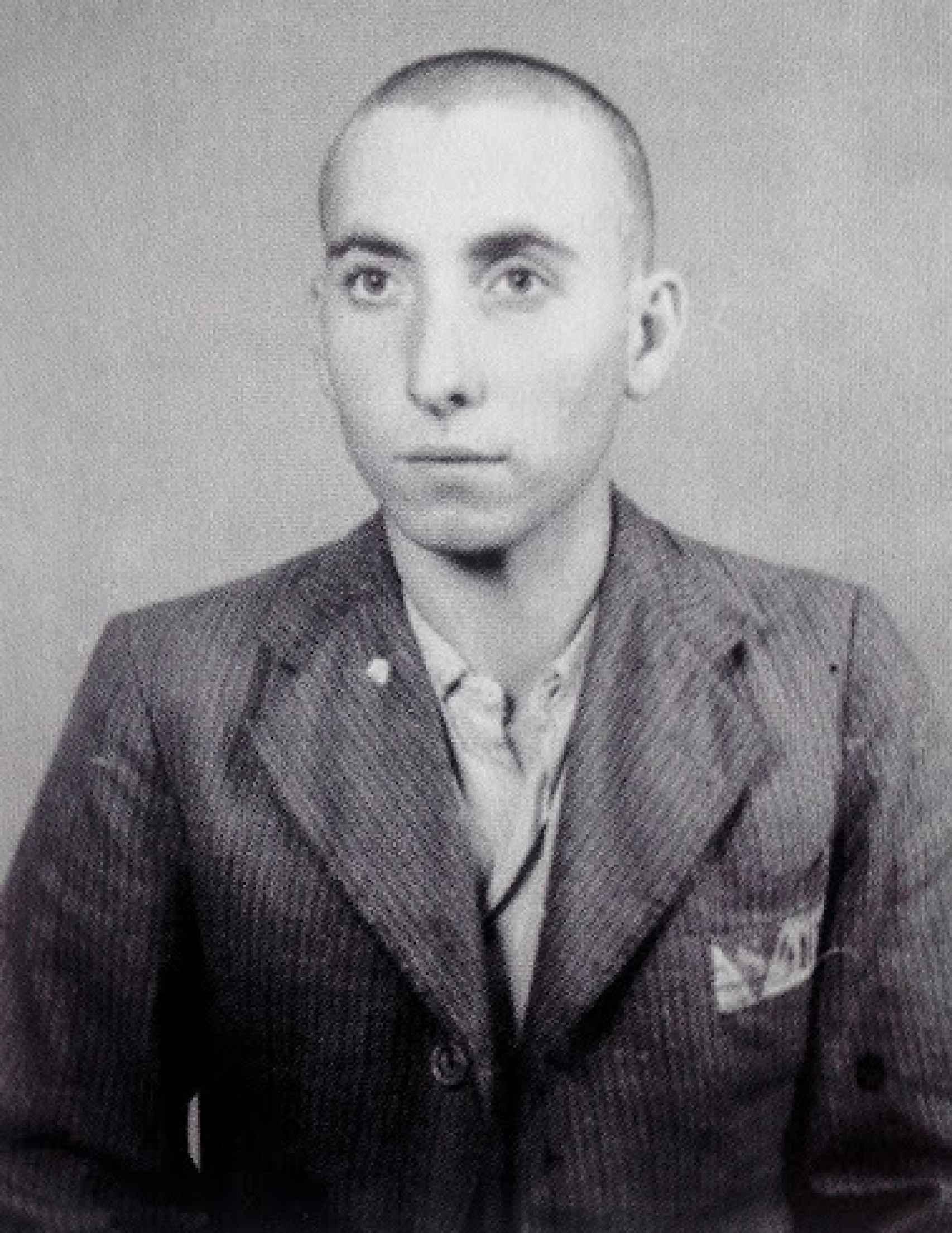 José Alcubierre, superviviente de Mauthausen, quien llegó allí a la edad de 14 años junto con su padre, quien no pudo sobrevivir.