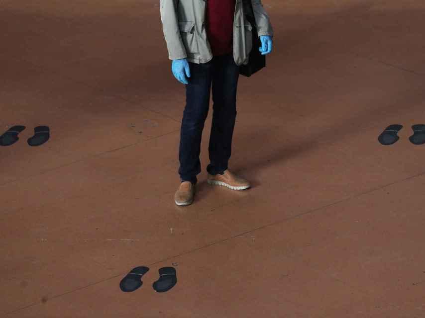 Los guantes se han popularizado y escasean en todos sitios.