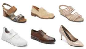 Montaje de JALEOS con algunos zapatos que se pueden lucir tras abandonar la cuarentena.
