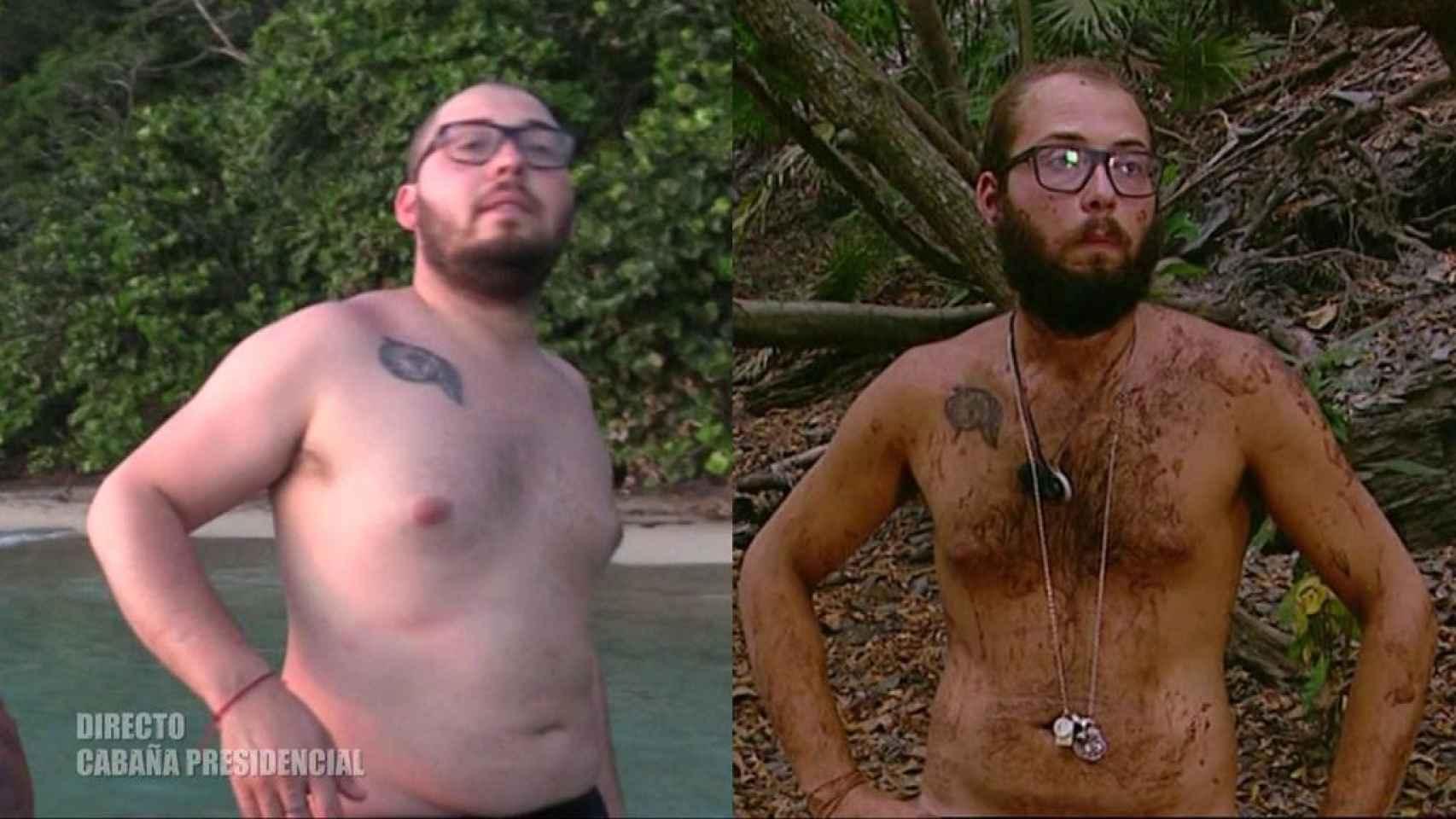 La transformación de Avilés es más que evidente tras perder 23 kilos.